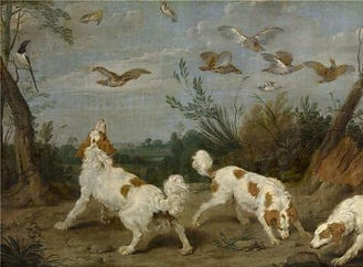 Paul de Vos,Partridge Hunt,about 1591-16