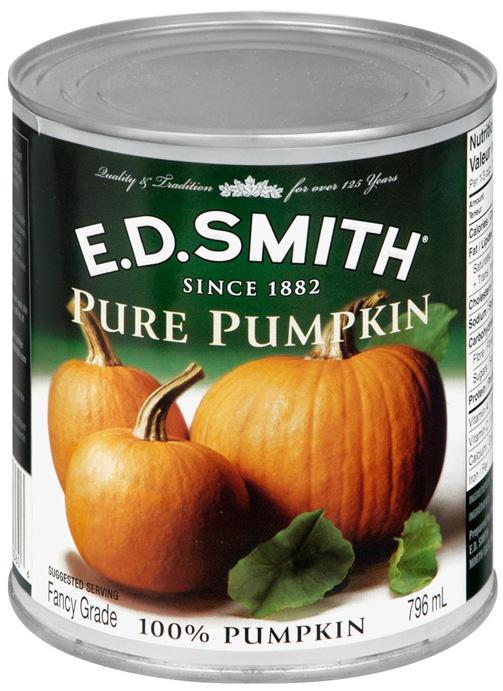 ED SMITH PUMPKIN