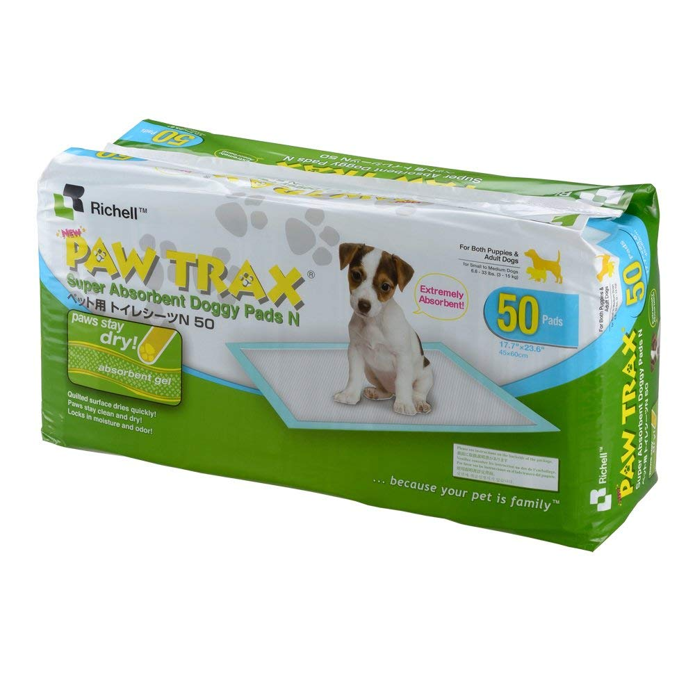 Richell Paw Trax Super Absorbe
