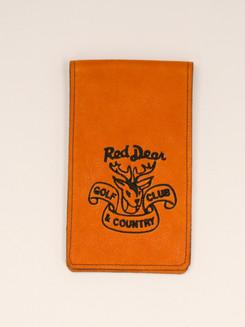 Red Deer CC Yardage Book