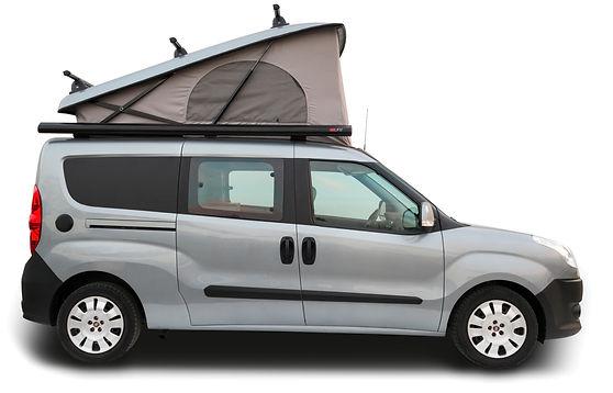 multi camper 3c concept camper car cargo. Black Bedroom Furniture Sets. Home Design Ideas