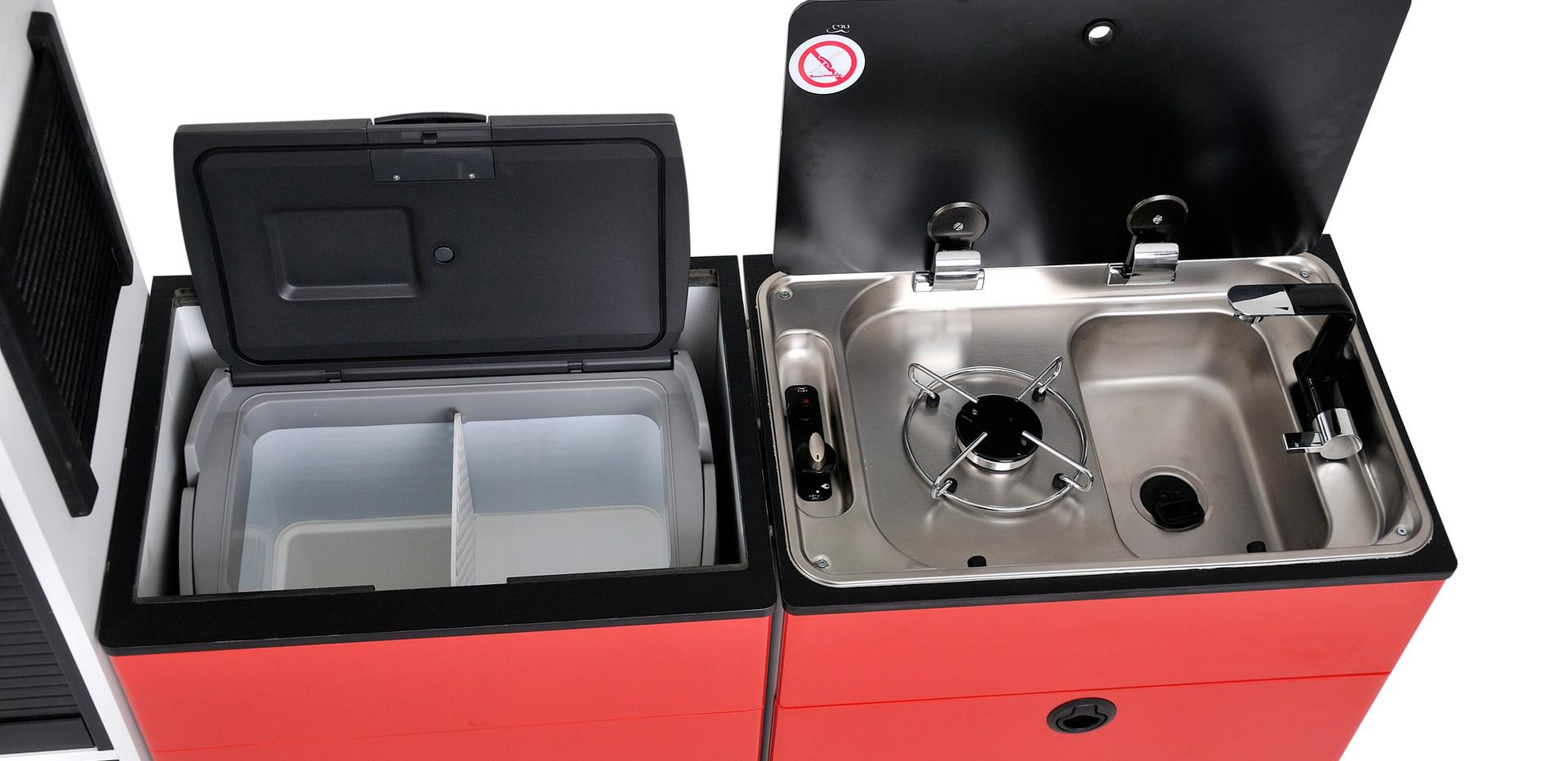 Модули кухня и холодильник