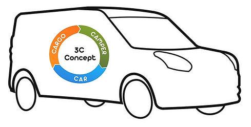 3C Concept: Camper Car Cargo