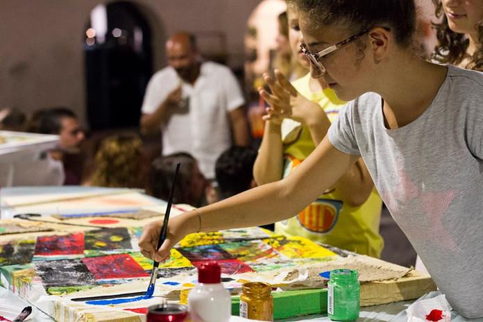 ALESSANDRO PILLI + kids | workshop/performance