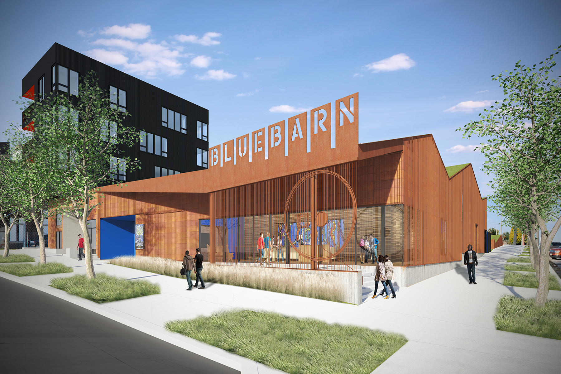 Bluebarn Theater/Boxcar Condominiums