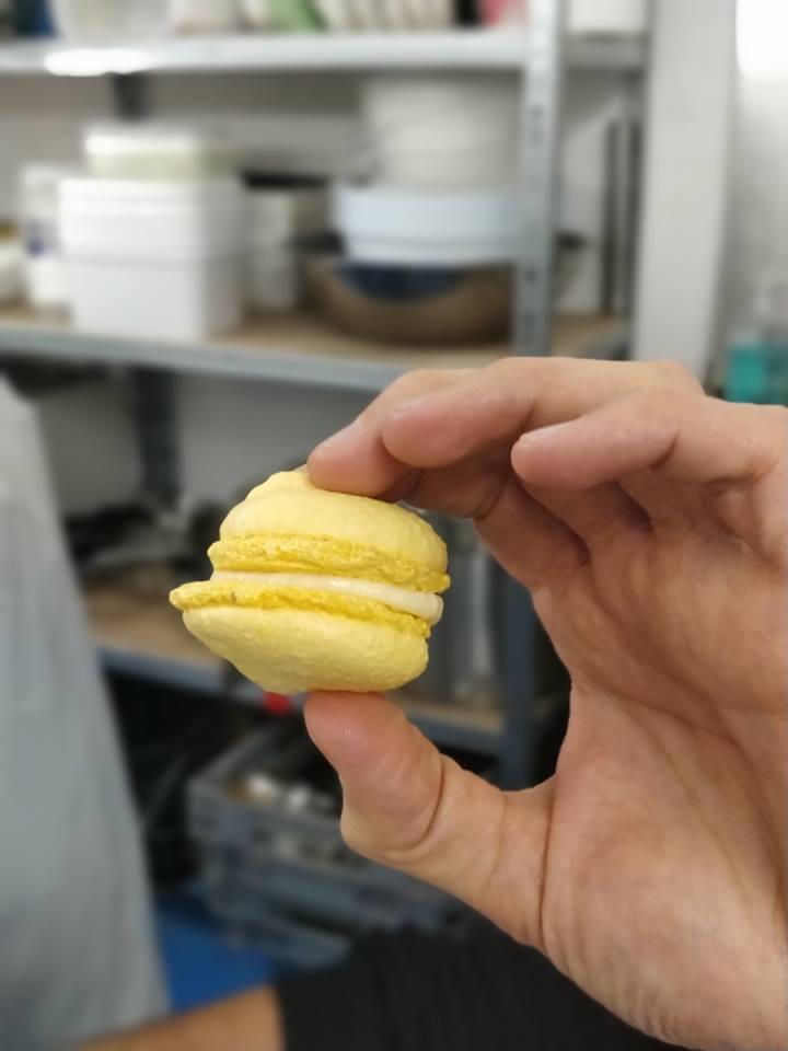Garniture des macarons