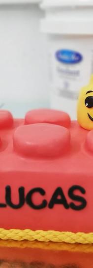 gâteau personnalisé LEGO