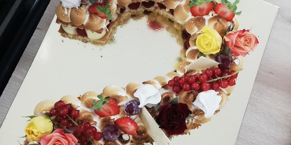 Atelier Number Cake Vanille et Fruits Rouges