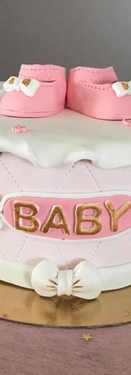 gâteau personnalisé baby shower