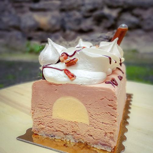 bûche_2019_pécan_érable_chocolat_lait_fa