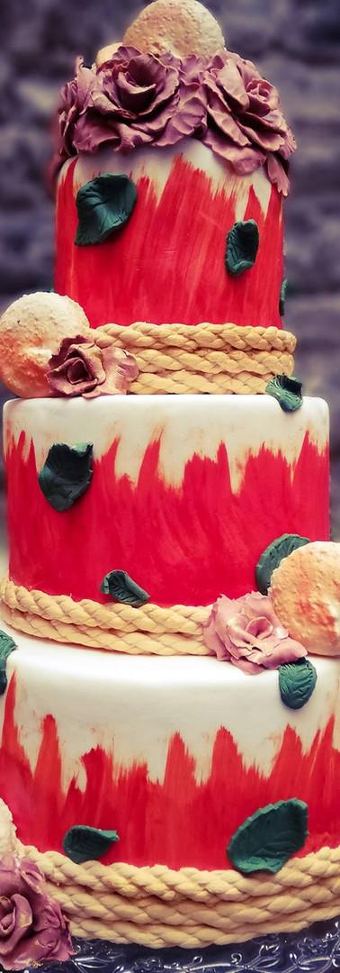wedding cake automne