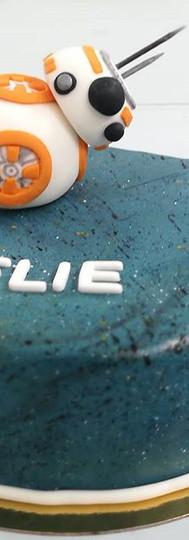 gâteau personnalisé BB-8 Star WARS