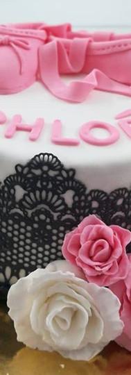 gâteau personnalisé danseuse