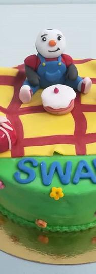 gâteau personnalisé TCHOUPI