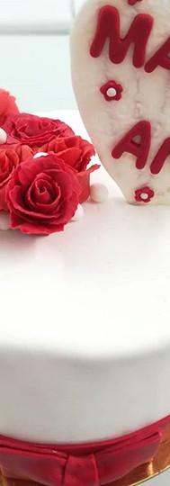 LOVE ❤ #cake #weddingcake #cocoricook