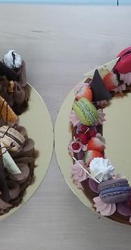 numbe_cake_N°30_chocolat_et_fruits_roug