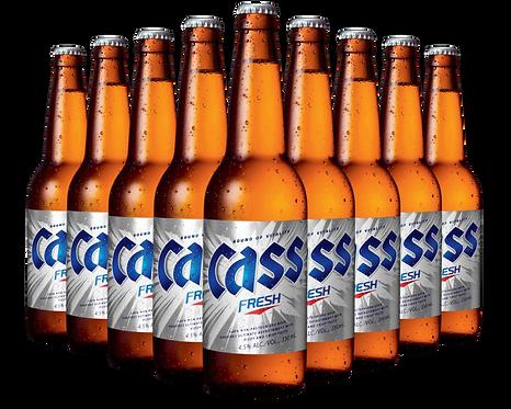Cass beer bottle image
