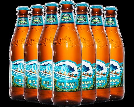 Big Wave Beer Bottle Image