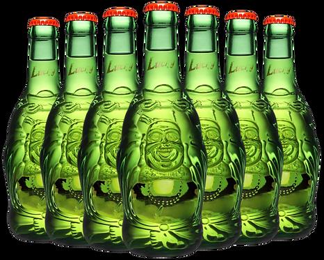 Lucky Buddha beer bottle image