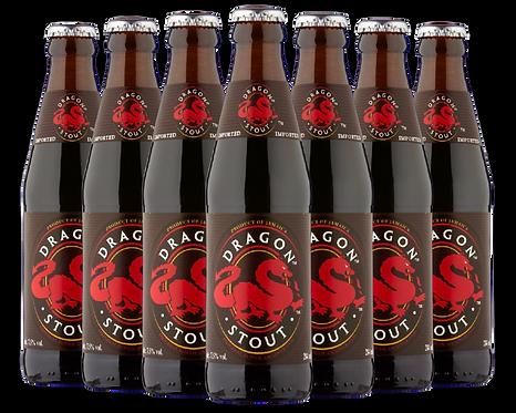 Dragon Stout beer bottle image