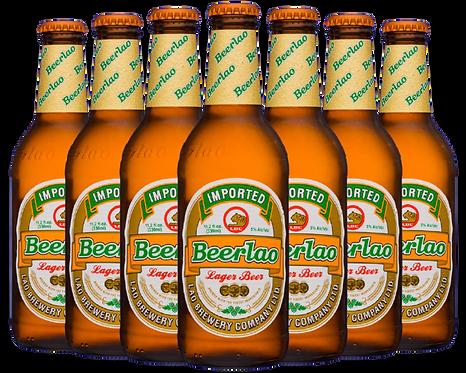 Beerlao beer bottle image