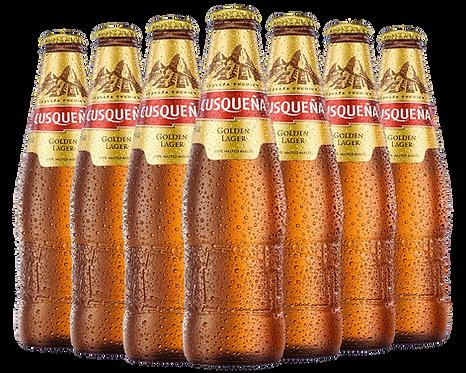 Cusquena beer bottle image