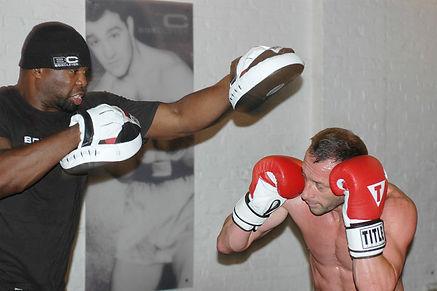 James Clarke Boxing Training