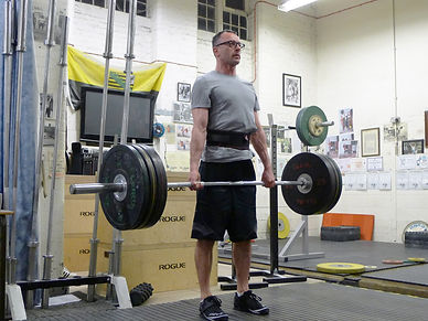 James Clarke Personal Trainer Deadlifting