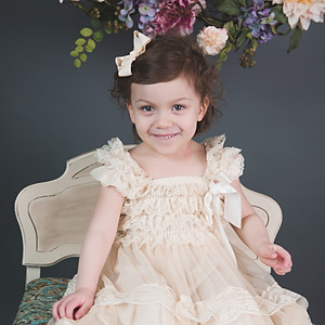 Brooke's 3 Year Milestone Pictures