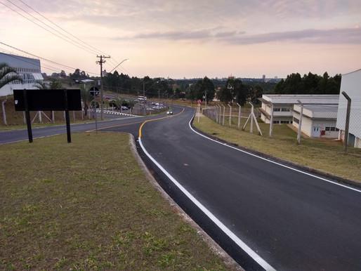 2019 - Rodovias do Tietê concluiu mais uma obra de recapeamento, no município de Botucatu