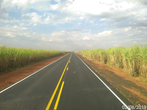 2019 - Rodovias do Tietê concluiu mais uma obra de recapeamento em Lençóis Paulista.