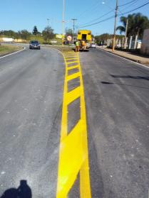 2019 - Rodovias do Tietê concluiu mais uma obra de recapeamento - Vicinal RPD 020, em Rio das Pedras