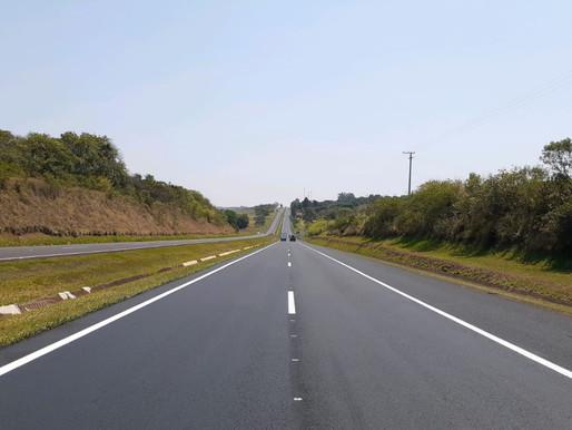 Rodovias do Tietê concluiu mais uma obra de recapeamento na SP 300, entre o km 248+750 ao km 268+100