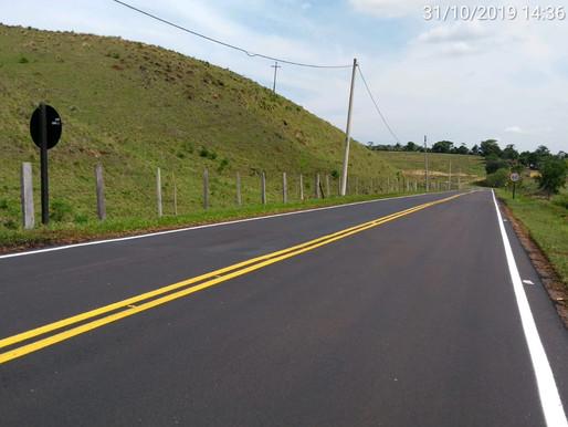 Rodovias do Tietê/ARTESP concluiu mais uma obra de recapeamento de Vicinal TIT 336, SP-113, em Tietê