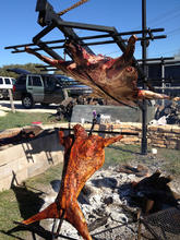 Whole Cow, Goat & Pig Roast