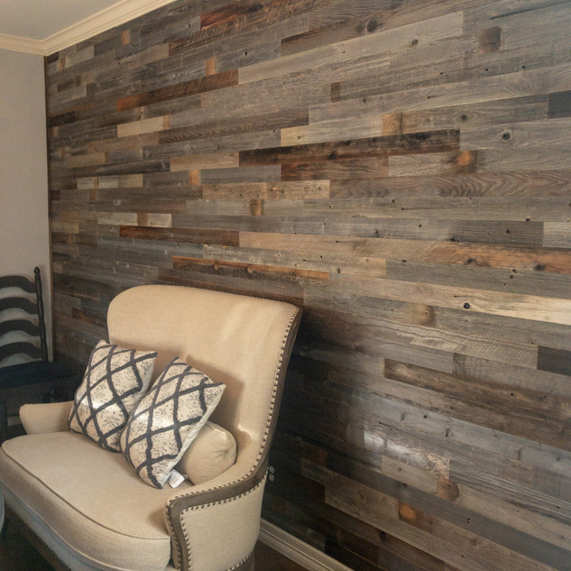 Reclaimed Plank Wood