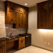 Kitchen Renovation Tile, cabinets, floors granite countertops