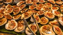 Roast Oysters