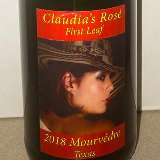 Claudia's First Leaf Rose