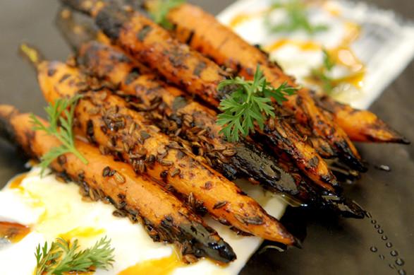 Cumin Crusted Carrots Curry Chili Oil.jp