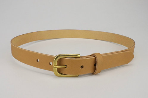 Women's Everyday Belt // Brass