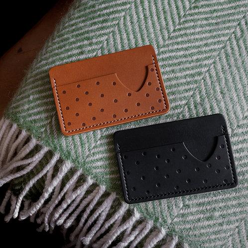 Polka Dot Card Holder
