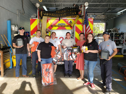 GRIT FOUNDATION DELIVERS CRITICAL LIFE SAVING EQUIPMENT TO HIGH SPRINGS FIRE DEPARTMENT
