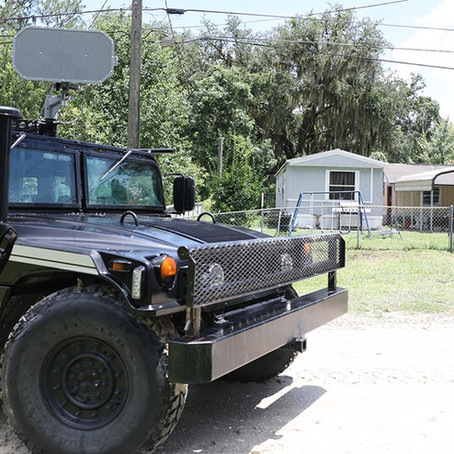 BARRICADED MAN SURRENDERS, ARRESTED FOR AGGRAVATED ASSAULT