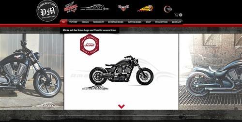 homepage pm americain cycles