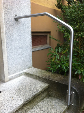 Handlauf Eingang