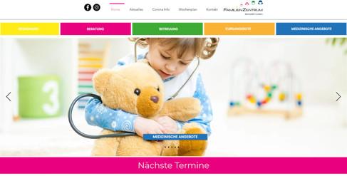 webseiten erstellung für familenzentrum schüpfen