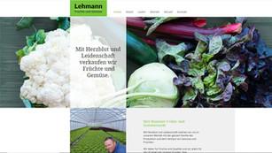 lehmann obst und gemüse-neue webseite durch googplace