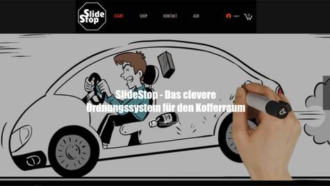 onlineshop erstellung fuer slide stop schweiz