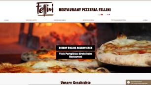 webdesign in murten für ristorante pizzeria fellini